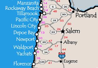 Favorite Places The Oregon Coast Joyfully Retired