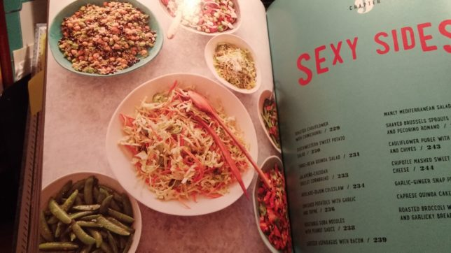 A book on tour joyfully retired we loved this chapter on side dishes its called sexy sides dont they all look yummy forumfinder Choice Image
